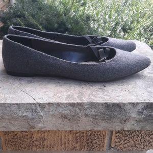 LANE BRYANT pointy toe flat shoes